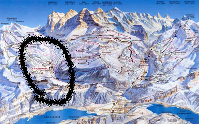 Ferienwohnung Ferien Grindelwald Jungfrau Eiger Winterferien Wintersport Ferienhaus